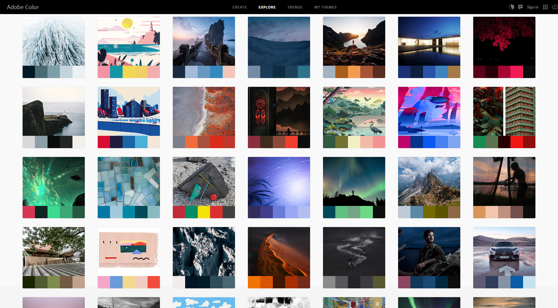 The Colorful World of Color Palette Design